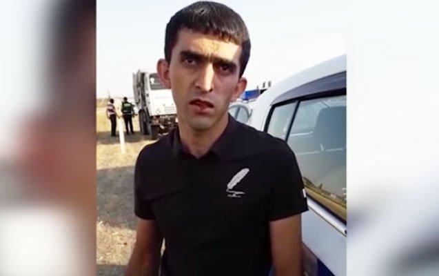 """8 nəfərin ölümünə səbəb olan sürücüyə BNA 5 gün əvvəl """"Fərqlənmə nişanı"""" verib"""